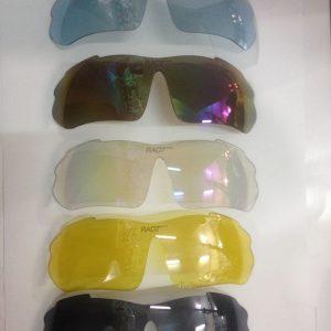 Óculos de Ciclismo RAD7 – 5 Lentes Multicoloridas