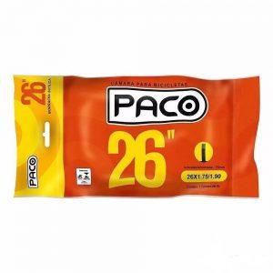 Camara de ar aro 26 Paco