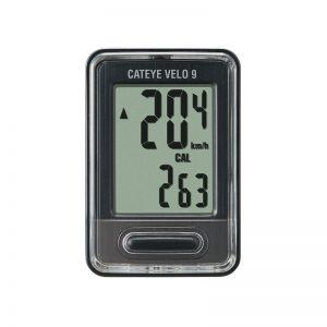 Velocimetro Ciclocomputador Cateye Velo 9