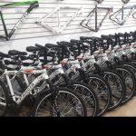 Bicicletas feitas para a Policia Militar do Estado de São Paulo