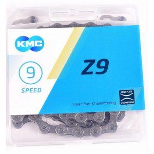 Corrente Kmc Z9 9v 27m Com Missing Link 116l Index Mtb Speed