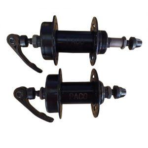 Cubo Disco 36 Furos Par Rosca Ferro Com Blocagem Alumínio