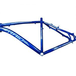 Quadro Aro 26 Raio Saturno Alumínio 6061 Tamanho 19 Azul