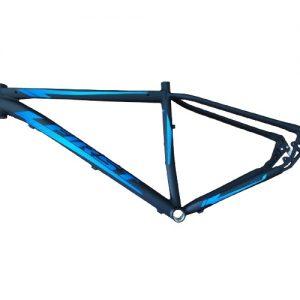 Quadro First Smith Aro 29 Al. 6061 Tam 17,5 Preto Fosco/azul